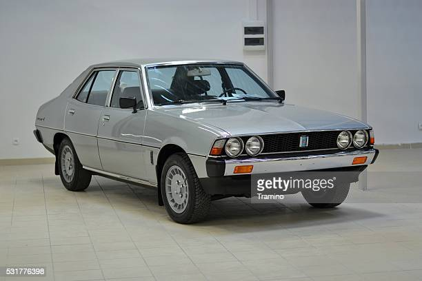 classic mitsubishi galant - mitsubishi group stock pictures, royalty-free photos & images