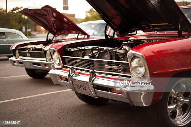 classic nova ss cars - bedford nova scotia stock pictures, royalty-free photos & images