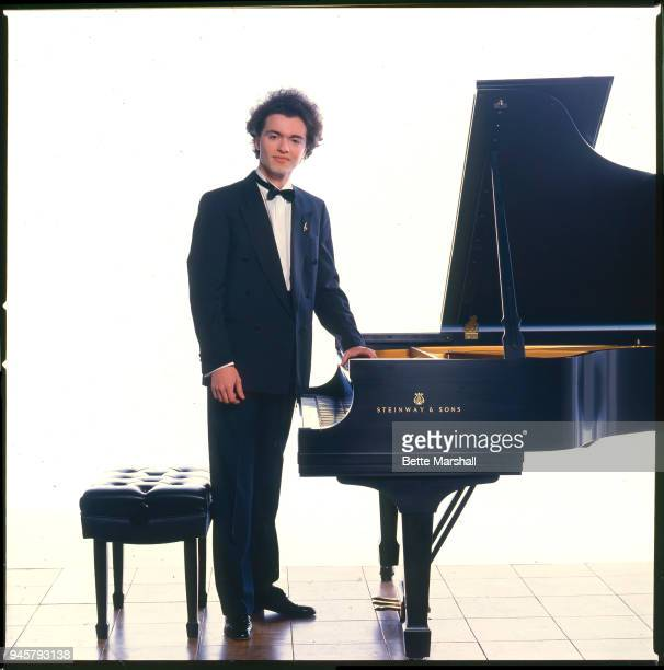 Classic pianist Evgeny Kissin is photographed for BMG Classics in 1997 in New York City