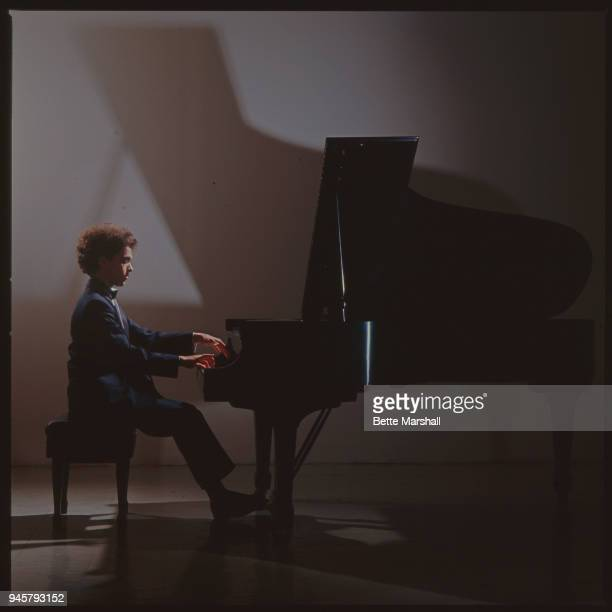 Classic pianist Evgeny Kissin is photographed for BMG Classics in 1990 in New York City