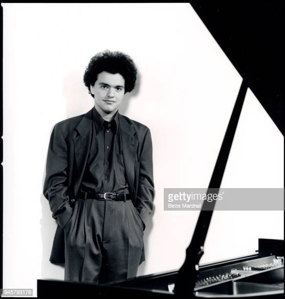 Classic pianist Evgeny Kissin is photographed for BMG Classics in 1993 in New York City