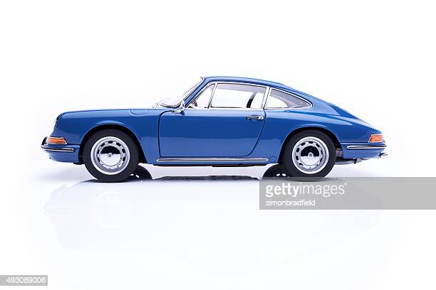 Classic Porsche 911 Model On White