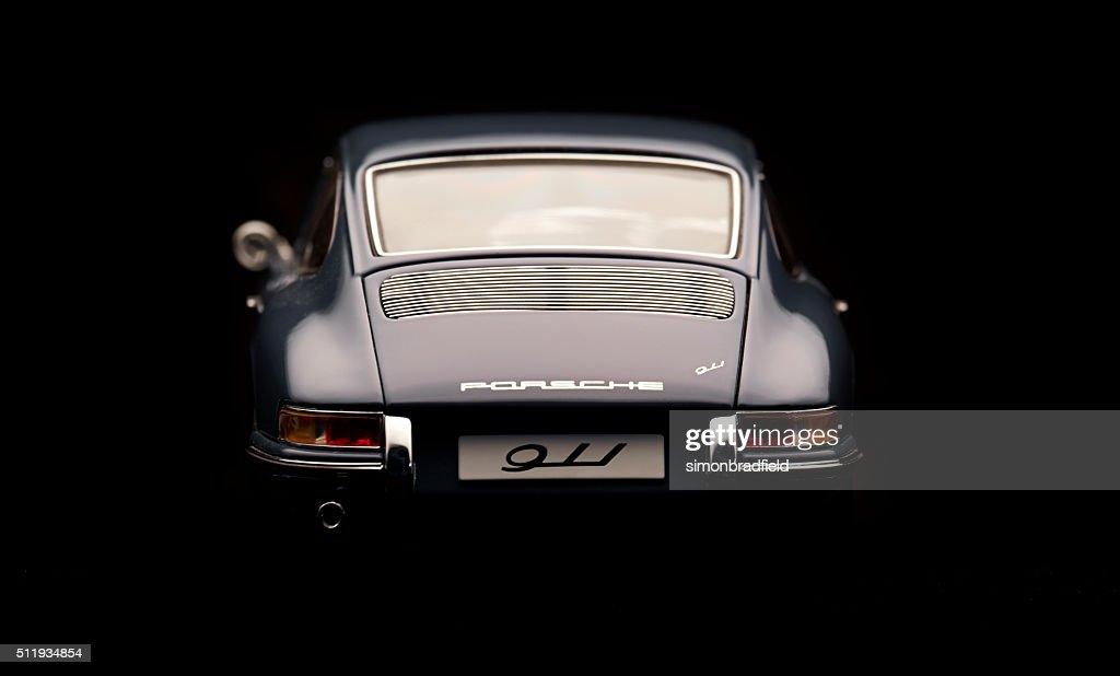 Classic Porsche 911 Model Rear View : Stock Photo
