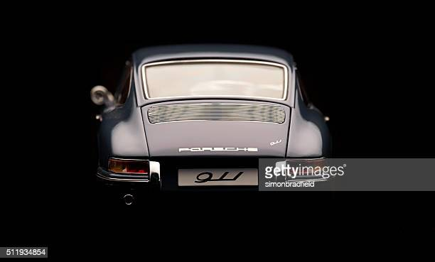 Classic Porsche 911 Model Rear View