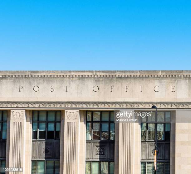 Classic  Post Office Facade