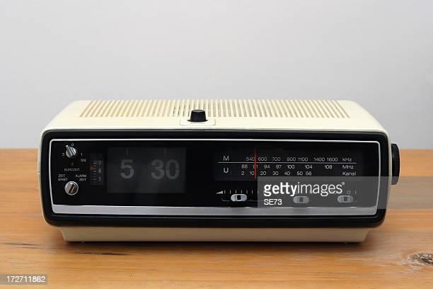 classic radio alarm clock