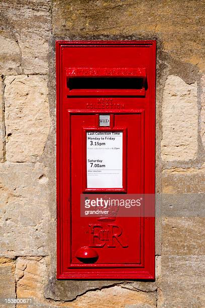Classic Red English Royal Mailbox