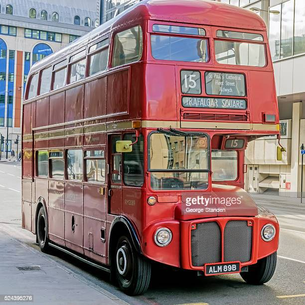 Classic Red London Bus
