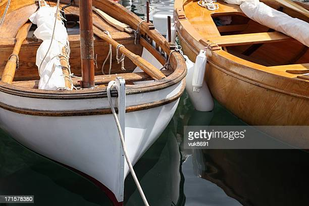 Classic sail boat details