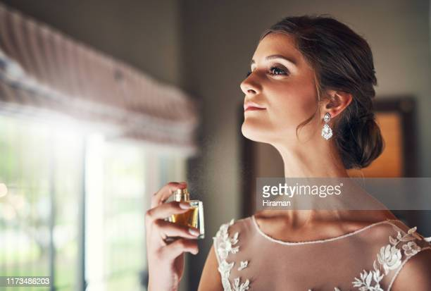 classic scent for a classic bride - perfume stock pictures, royalty-free photos & images
