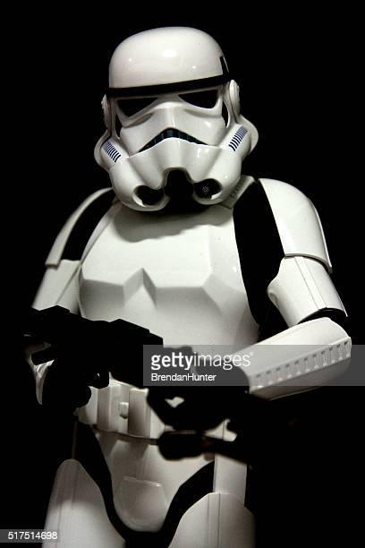 clássico de stormtrooper - star wars imagens e fotografias de stock