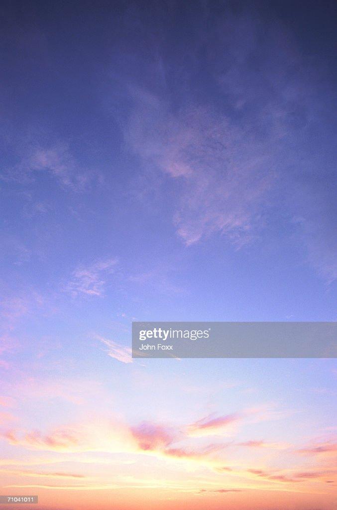 classic sunset : Stock Photo