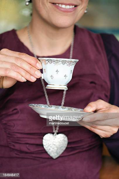 """classic tea time. - """"martine doucet"""" or martinedoucet stock pictures, royalty-free photos & images"""