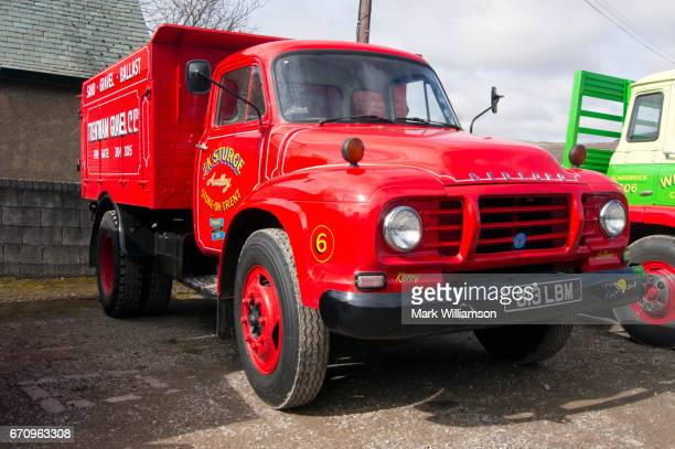 classic truck. - bedford england stock photos and pictures