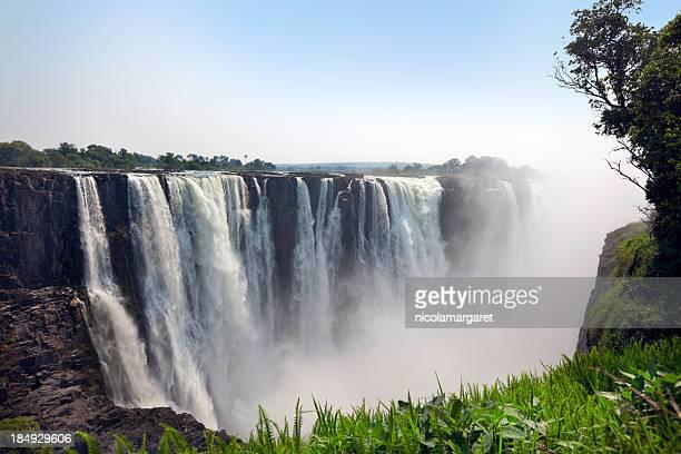 Classic view of Victoria Falls