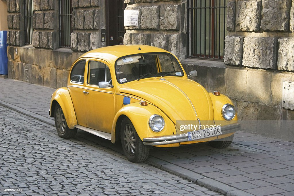 Classic Volkswagen Beetle Car High Res Stock Photo Getty Images