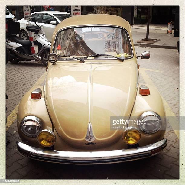 Klassische VW Käfer in istanbul