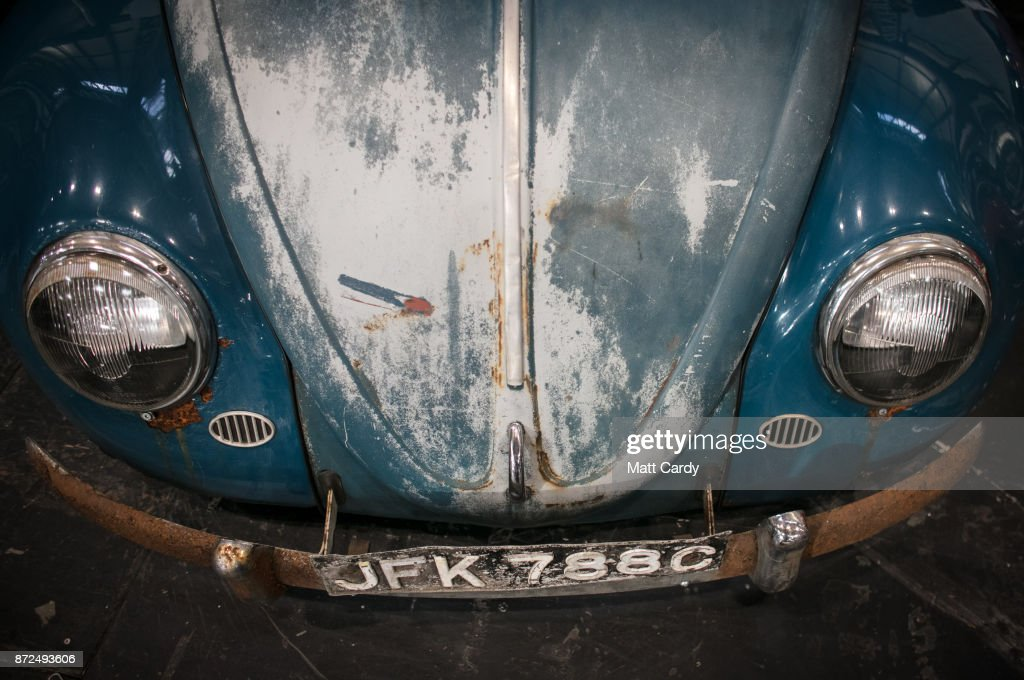 A classic Volkswagen Beetle is pictured on the first day of the Lancaster Classic Motor Show at the NEC Birmingham on November 10, 2017 in Birmingham, England. According to a recent survey by the Federation of British Historic Vehicles Clubs, the historic vehicle industry currently generates revenues in excess of £5.5 billion per year for the UK economy, and while current government policy is to promote self-driving and low carbon cars, according to Transport Minister Chris Grayling his party is also committed to supporting owners of classic cars, and those that want to continue to use them on the road in the future.