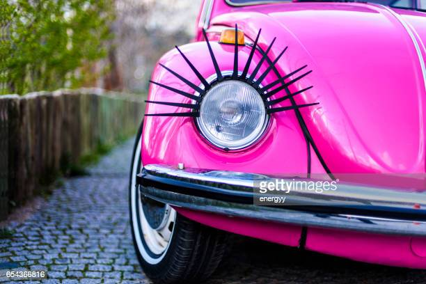 classic volkswagen beetle - cool cars stock pictures, royalty-free photos & images