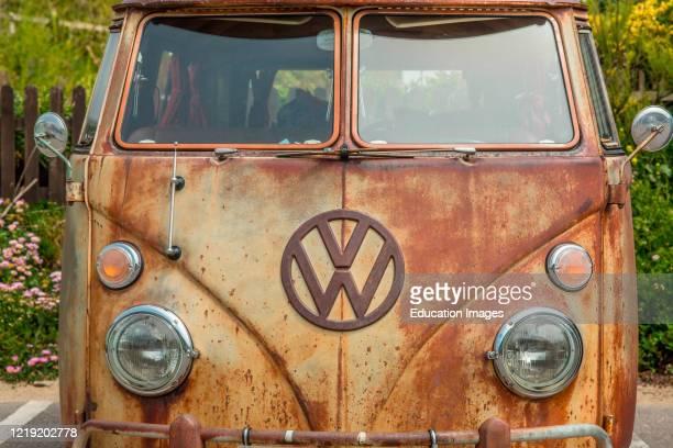 Classic Volkswagen Campervan.