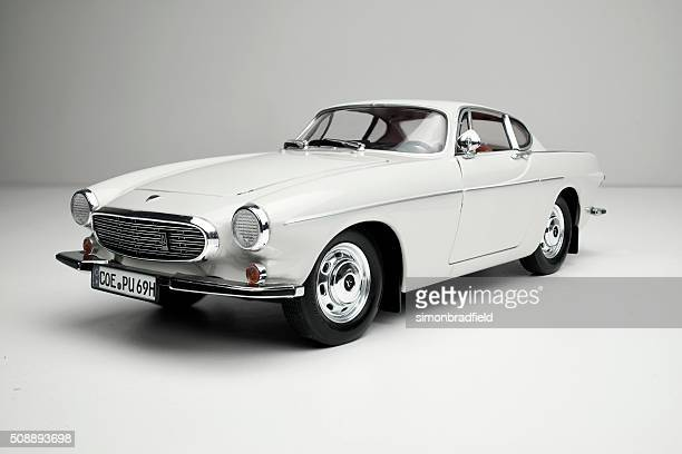 classic volvo 1800s model car - volvo stock pictures, royalty-free photos & images