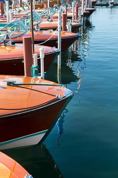 Classic Wooden Boats Wall Art