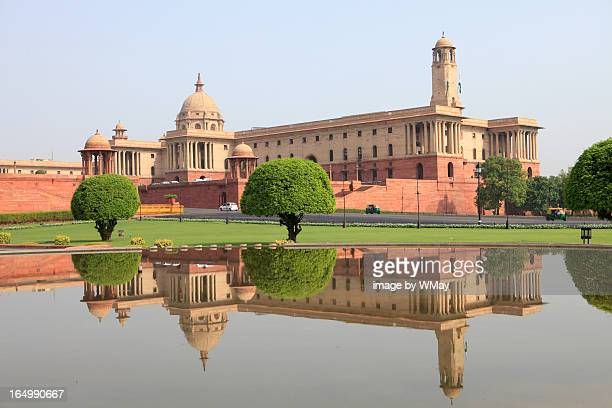 classical architecture, new delhi - india politics stock pictures, royalty-free photos & images
