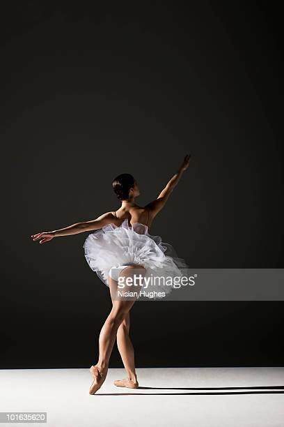 classical ballerina on stage