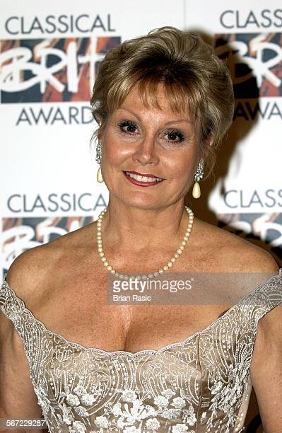 Classical Brit Awards Royal Albert Hall London Britain 20 May 2002 Angela Rippon