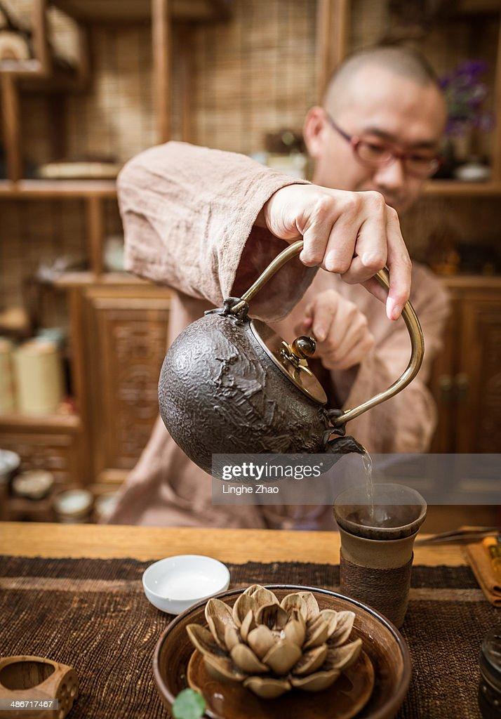 Classical Chinese tea : Stock Photo