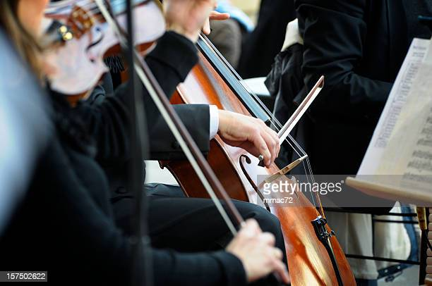 classical concert - soloist stock photos and pictures