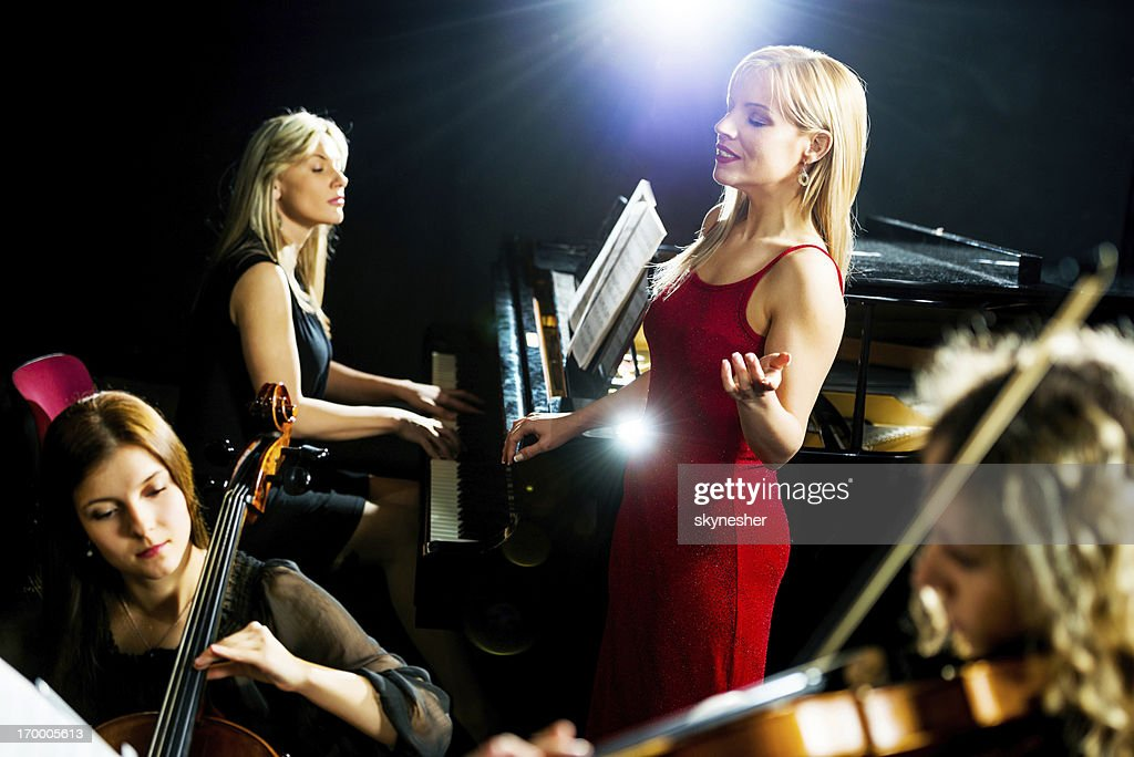 Classical concert. : Stock Photo