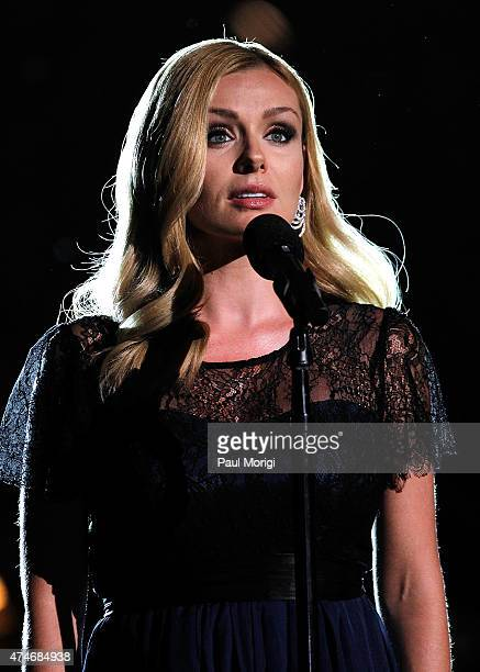 Classical crossover artist Katherine JenkinsÊperforms at the 26th National Memorial Day Concert on May 24 2015 in Washington DC