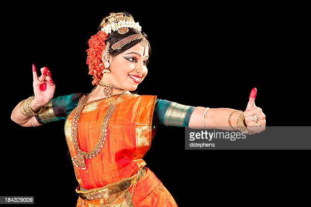 Música clásica india Kuchipudi bailarín