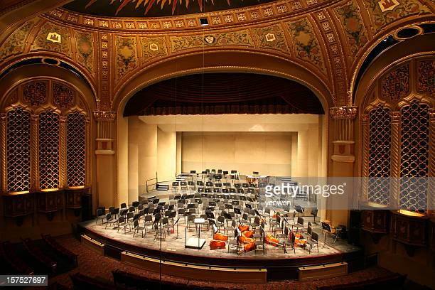 classical music concert hall - concert hall stock pictures, royalty-free photos & images