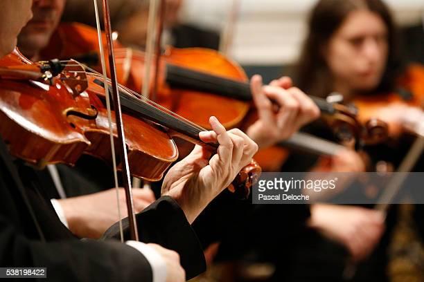 Classical music concert in La Madeleine church