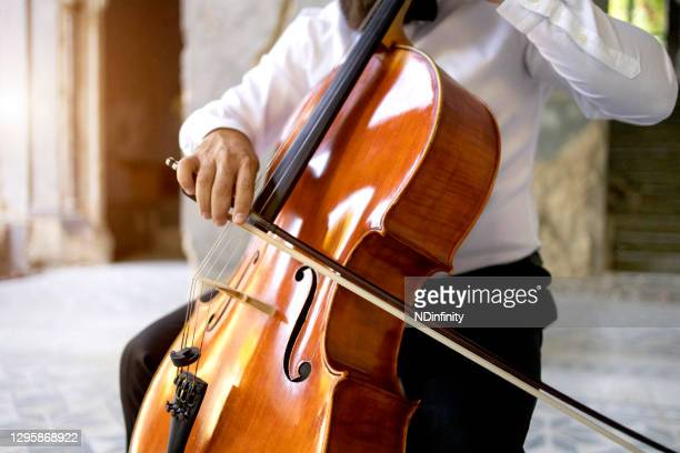 classical music player exercise solo performance stock photo - individual event stock pictures, royalty-free photos & images