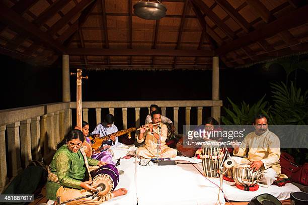 Classical musical concert Kerala Backwaters Alappuzha District Kerala India