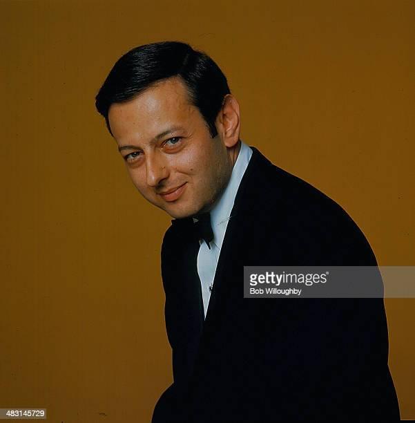 Classical musician Andre Previn in a posed portrait circa 1960