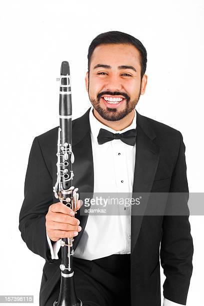 musicista classico - clarinetto foto e immagini stock