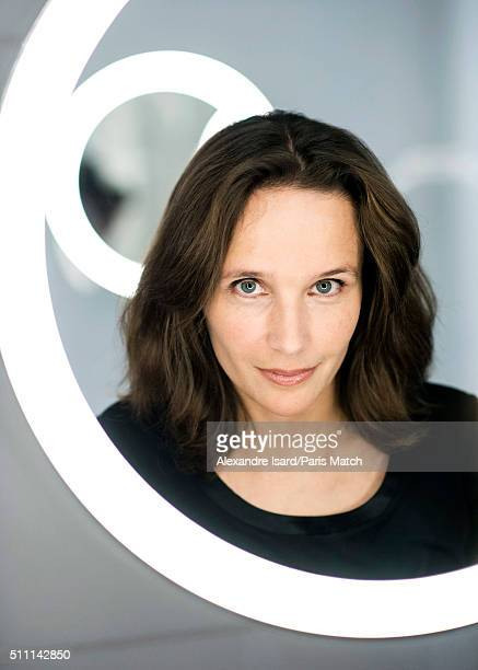 Classical pianist Helene Grimaud is photographed for Paris Match on January 26 2016 in Paris France