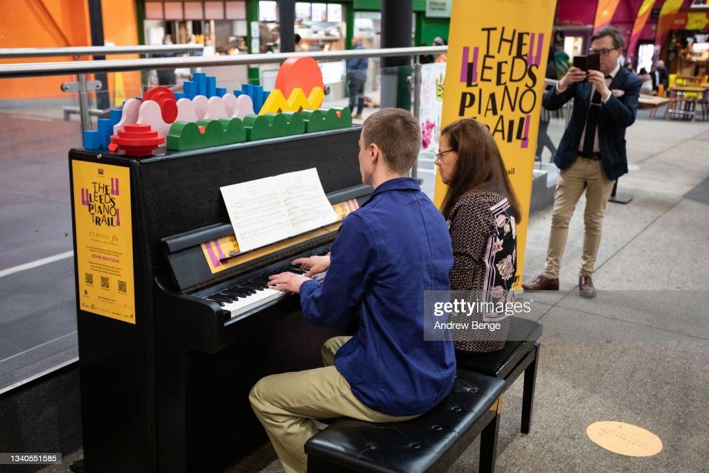 Leeds Piano Trail 2021 : News Photo