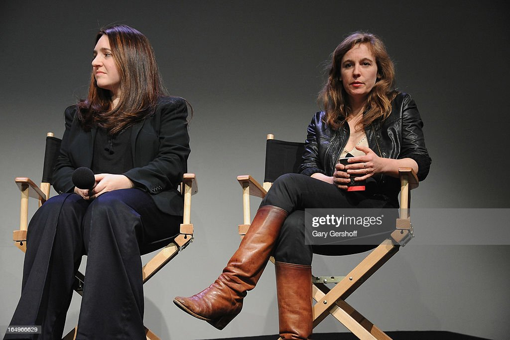 Classical pianist Simone Dinnerstein (L) and singer-songwriter Tift Merritt attend Meet the Musicians at the Apple Store Soho on March 29, 2013 in New York City.