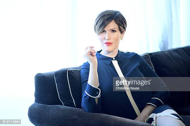 Classical pianist TV writer and singersongwriter Our Lady J of Amazon's 'Transparent' poses for a portrait for Los Angeles Times on August 7 2016 in...