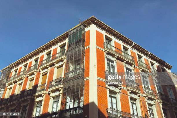 classical style building from low angle view - neo classical stock pictures, royalty-free photos & images