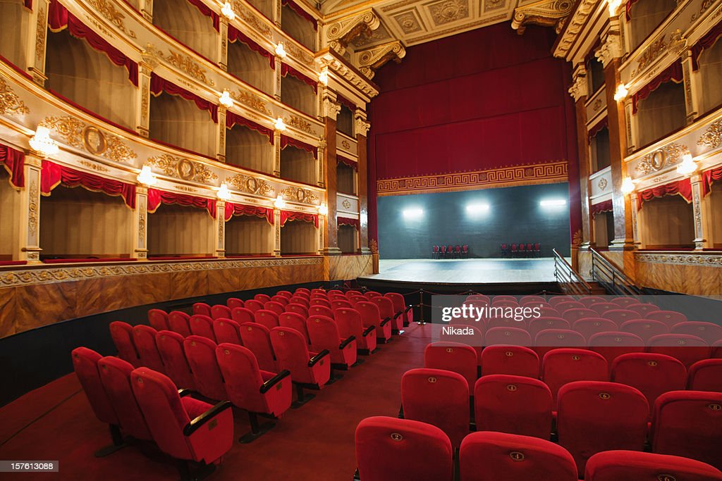 classical theatre in Europe : Stock Photo