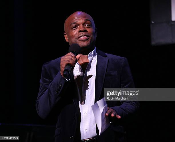 Classical theatre of Harlem's producing artistic director Ty Jones attends 'The First Noel' Sneak Peek at The Apollo Theater on November 16 2016 in...