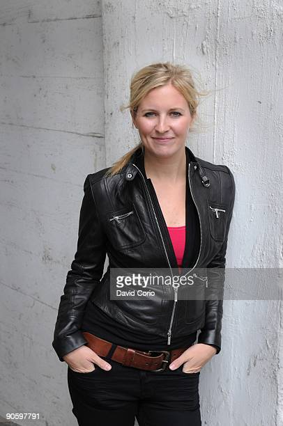 Classical trumpeter Alison Balsom poses for a portrait on August 29 London England