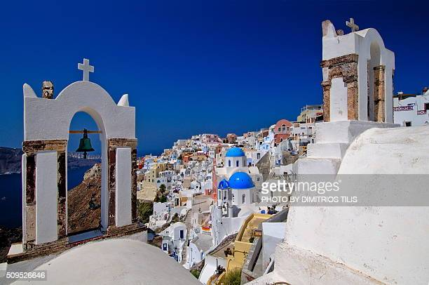 Classical view from Oia Santorini