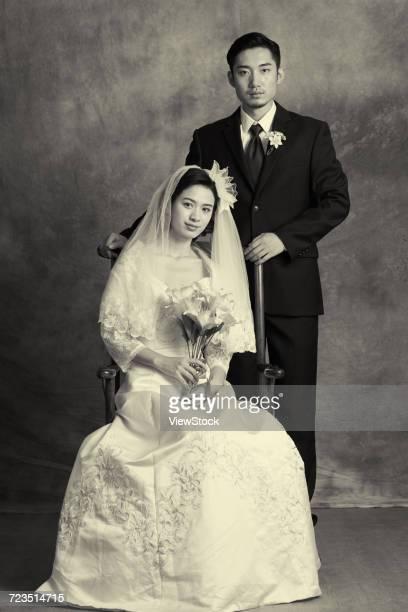 classical wedding photos - vintage stock ストックフォトと画像